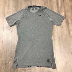 Nike pro Dri fit compression t Shirt Large
